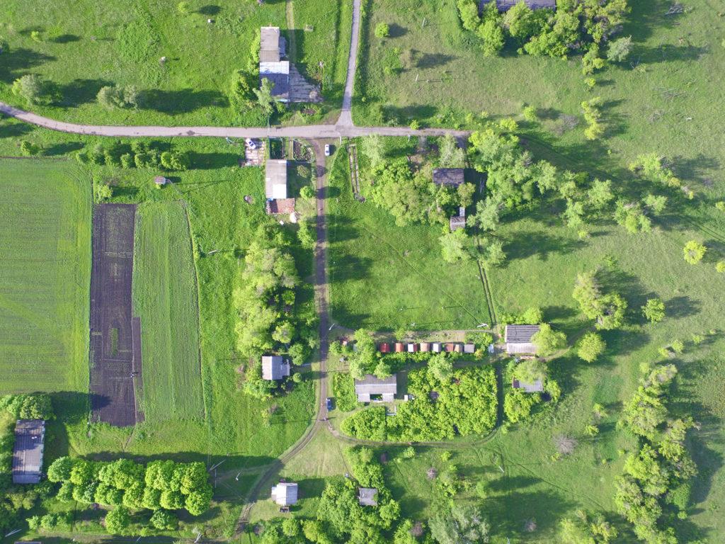 Летний снимок с БПЛА