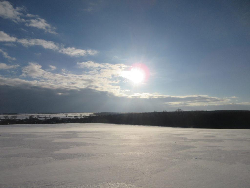 зимний агроландшафт