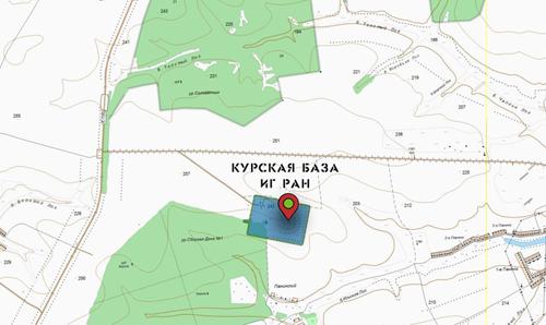 Курская биосферная станция - Медвенский район Курской области