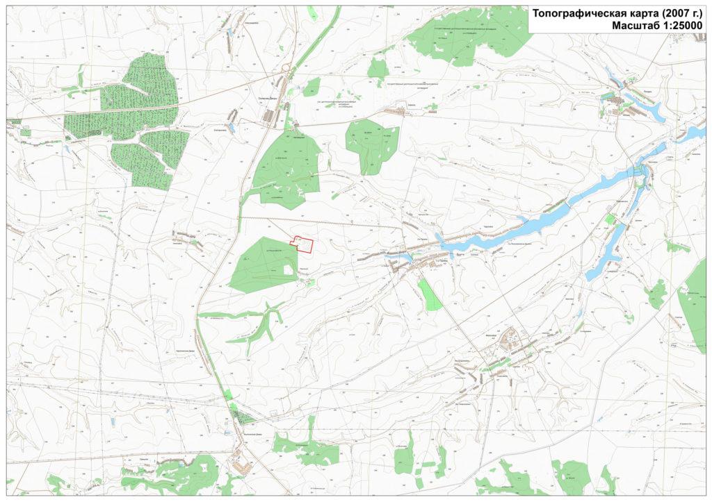 Топографическая карта