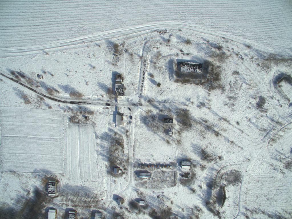 Курская биосферная станция - съемка с БПЛА (зима)